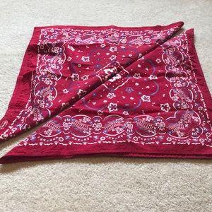 Bundle of Old Navy red bandanas
